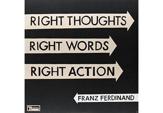 Franz Ferdinand - Right Thoughts, Right Words, Right Action [LP + Download]