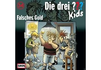 SONY MUSIC ENTERTAINMENT (GER) Die drei ??? Kids 34: Falsches Gold