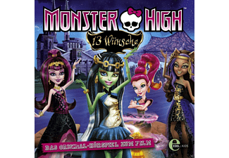 Monster High - 02: 13 Wünsche - (CD)