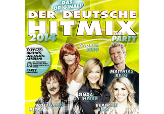 VARIOUS - Der Deutsche Hitmix-Die Party 2014 - (CD)