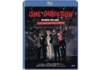 One Direction - Where We Are: Live From San Siro Stadium - (Blu-ray)