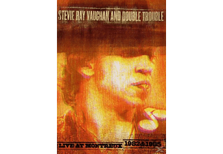 Stevie Ray Vaughan, Double Trouble - LIVE AT MONTREUX 1982 & 1985 - (DVD)