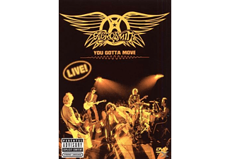 Aerosmith - YOU GOTTA MOVE (A&E SPECIAL) - (DVD + CD)