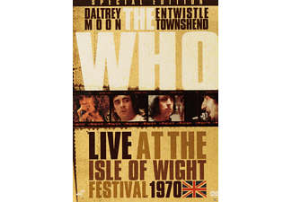 The Who - Live at the Ilse Of Wight Festival 1970 - (DVD)