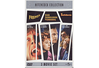 Hitchcock Collection: Frenzy / Der zerrissene Vorhang / Saboteure (3 Movie Set) - (DVD)
