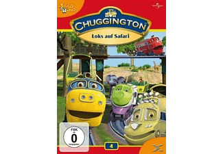 Chuggington - Loks auf Safari (Vol. 4) - (DVD)