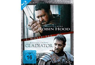 Robin Hood / Gladiator (Director's Cut - Extended Version) [Blu-ray]