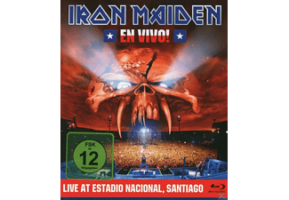 Iron Maiden - EN VIVO! LIVE IN SANTIAGO DE CHILE - (Blu-ray)
