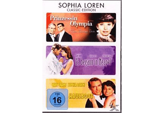 Prinzessin Olympia / Es begann in Neapel / Hausboot DVD-Box - (DVD)