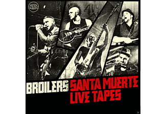 Broilers - SANTA MUERTE LIVE TAPES - (CD)