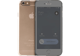 PURO PU-125492 Sense Collection iPhone 6 Handyhülle, Transparent