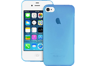 PURO PU-091858 Ultra Slim 0.3 Backcover Apple iPhone 4, iPhone 4s Silikon Blau