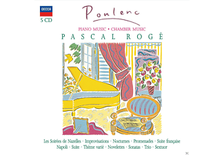 Pascal Roge, Chantal Juillet, Michel Portal, Jean-philippe Collard - Piano Music / Chamber Music [CD]