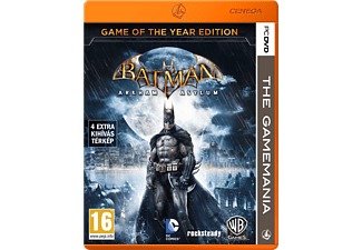 Batman: Arkham Asylum - Game of The Year Edition (The Gamemania) (PC)