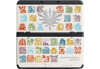 NINTENDO Coverplate Monster Hunter 4 wit (2213666)