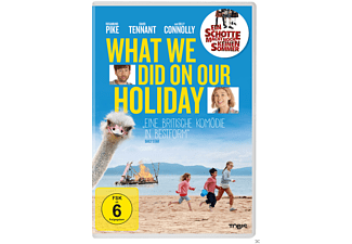 What we did on our Holiday / Ein Schotte macht noch keinen Sommer [DVD]