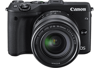 CANON EOS M3 Premium Kit + EF-M 18-55mm f/3,5-5,6 IS STM