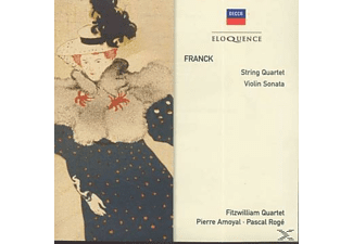 Pierre Amoyal, Pascal Roge, Fitzwilliam Quartet, The String Quartet - String Quartet VI - (CD)