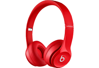 BEATS Solo 2 WIRELESS, On-ear Kopfhörer, Bluetooth, Rot