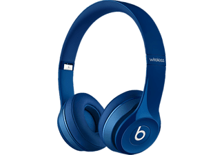 BEATS Solo 2 WIRELESS, On-ear Kopfhörer, Bluetooth, Blau
