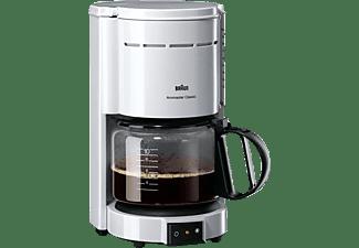 BRAUN KF 47/1 Aromaster Classic, Kaffeemaschine, Weiß