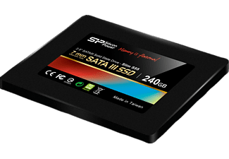 SILICON POWER SP240GBSS3S55S25 Slim S55, Festplatte, Interne SSD, 240 GB, 2.5 Zoll