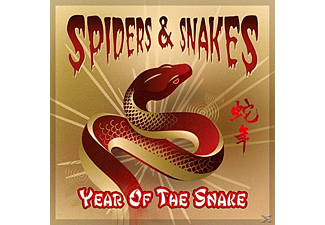 Spiders & Snakes - Year Of The Snake - (CD)