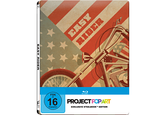 Easy Rider (Steelbook Edition / Pop Art/Exclusiv) - (Blu-ray)