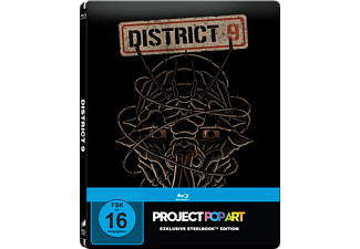 District 9 (Steelbook Edition / Pop Art/ Exclusiv) - (Blu-ray)