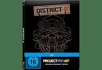 District 9 (Steelbook Edition / Pop Art/ Exclusiv) - (Blu-ray)