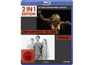 John Carpenters The Ward/ Pathology - (Blu-ray)