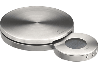 CASO 3200 K 3 inkl. Timer, Uhr, Küchenwaage, 3.000 g, Edelstahl
