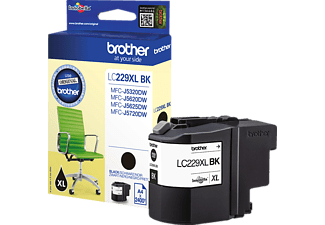 BROTHER Original Tintenpatrone Schwarz (LC-229XLBK)