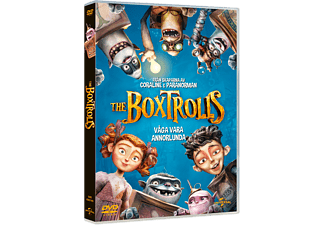 The Boxtrolls Animation / Tecknat DVD