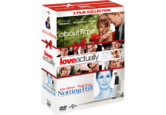 About Time/Love Actually/Notting Hill - Box Komedi DVD