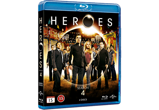 Heroes - S4 Action Blu-ray