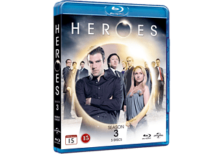 Heroes - S3 Action Blu-ray