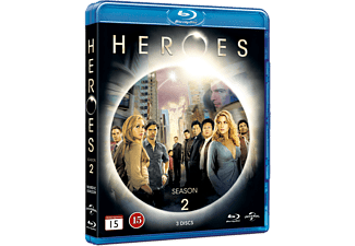 Heroes - S2 Action Blu-ray