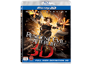 Resident Evil: Afterlife Action Blu-ray 3D