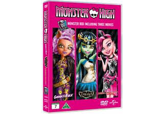 Monster High: Box Barn DVD