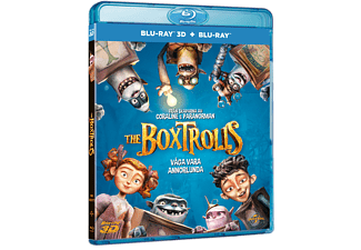 The Boxtrolls Animation / Tecknat Blu-ray 3D