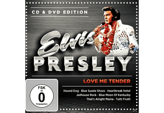 Elvis Presley - Love Me Tender-Cd & Dvd Edit - (CD + DVD Video)