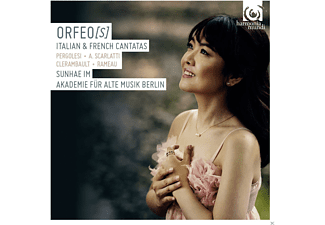 Sunhae Im, Akademie Fuer Alte Musik Berlin - French And Italian Cantatas [CD]