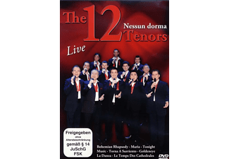 The 12 Tenors - NESSUN DORMA/LIVE - (DVD)