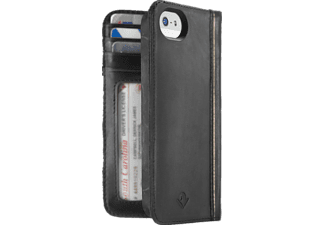 TWELVE SOUTH 12-1233 Bookcover Apple iPhone 5, iPhone 5s, iPhone SE Echtleder Schwarz