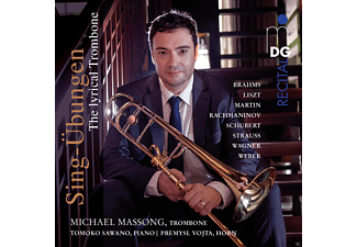 Michael Massong - Sing-Übung-The Lyrical Trombone - (CD)