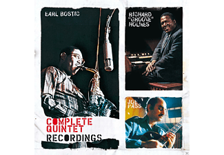 Earl Bostic, Joe Pass, Richard Groove Holmes - Complete Quintet Recordings - (CD)