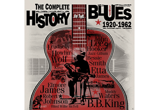 VARIOUS - Complete History Of Blues - (CD)