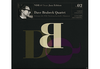 The Dave Brubeck Quartet - Ndr 60 Years Jazz Edition Vol.2 / Live Hannover 28.02.1958 [CD]