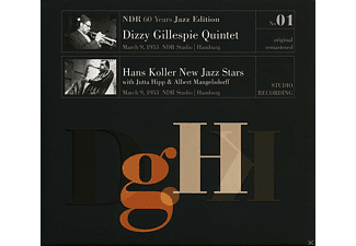 Dizzy Gilespie Quintet \ Hans Koller New Jazz Stars - Ndr 60 Years Jazz Edition Vol.1 / Ndr Studio Hamburg - (CD)